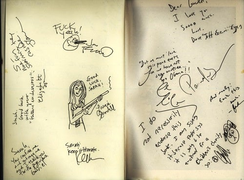 The Gawker Sarah Palin Slam Book: Bid on This Literary Treasure for Charity