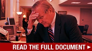 The Pentagon Papers Donald Rumsfeld Doesn't Want You to See