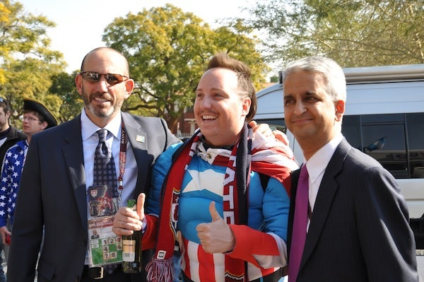 The Shrieking, AIDS-Joking, Gulati-Taunting Ugly Americans Of The World Cup
