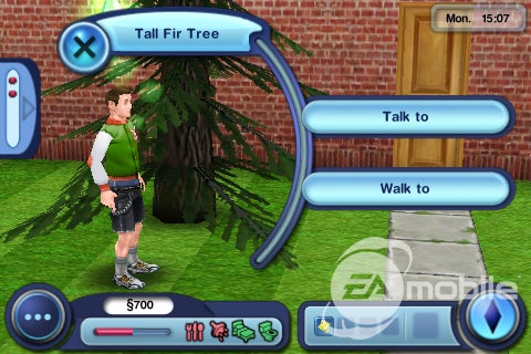 The Sims 3 iPhone Speaks To The Trees