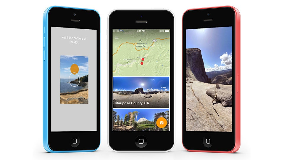 Google's  360-Panorama Photo Sphere app kommer till iOS