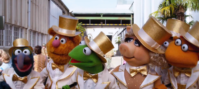 Watch the first musical number from the upcoming Muppets movie