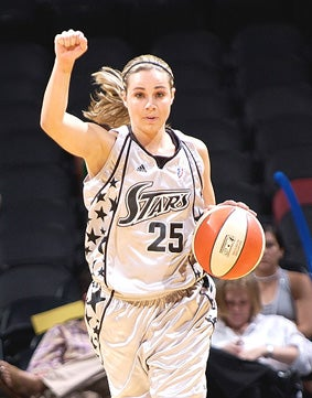 Becky Hammon Not Going To Be The Most Popular Gal At The V F W
