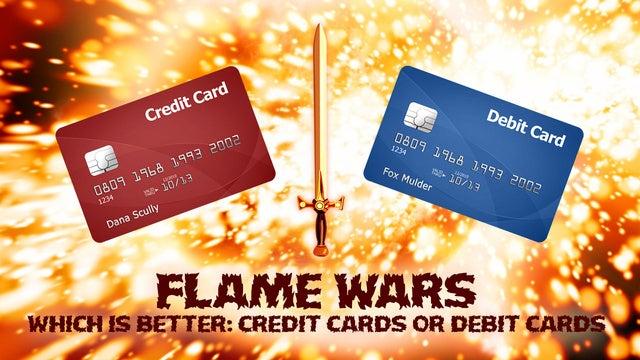 debit cards vs credit cards your best arguments