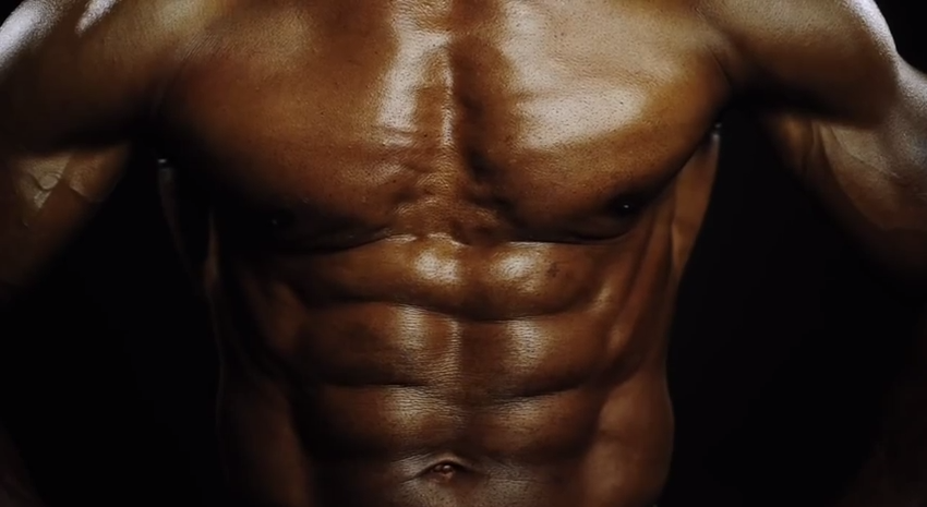 This unbelievably ripped 70-year-old man is not a cyborg (I think)