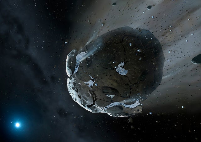 The mammoth asteroid set to fly by Earth last night just disappeared