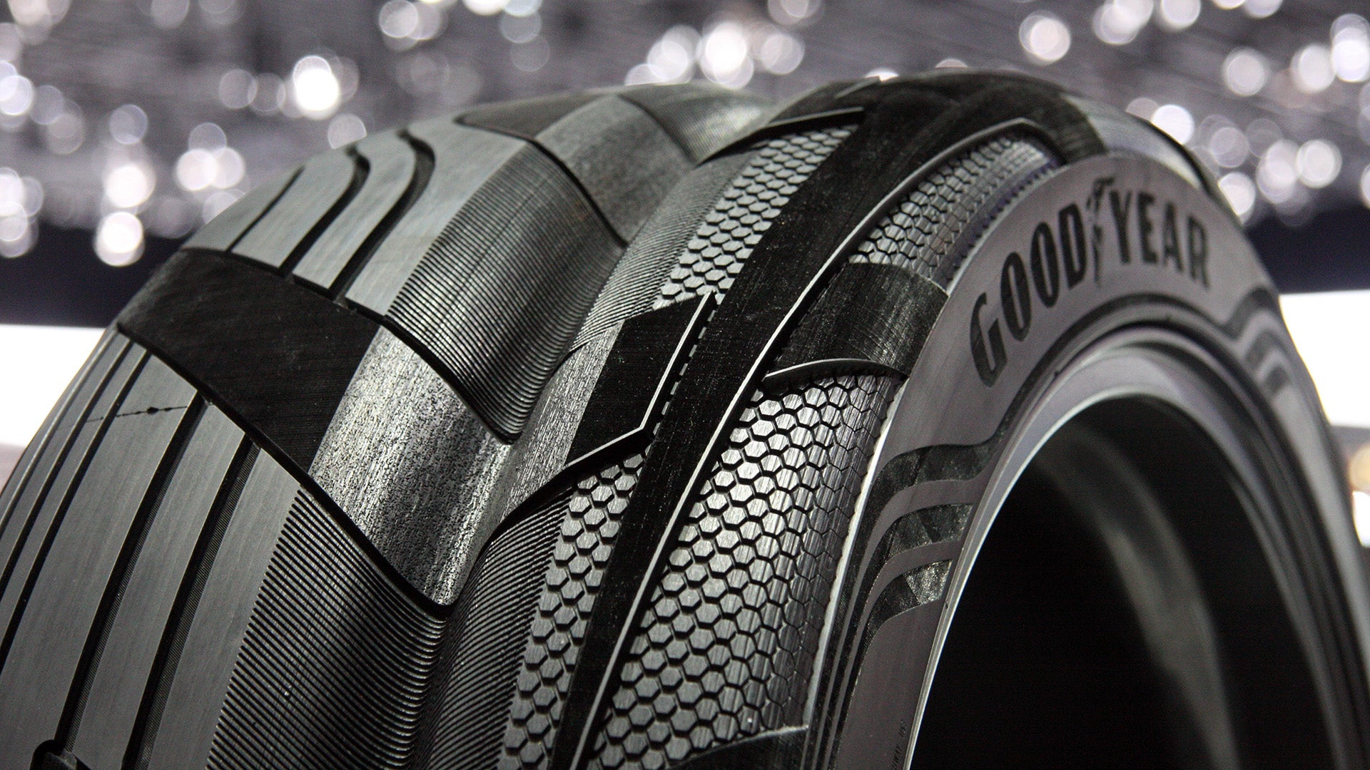 Goodyear's Clever Concept SUV Tire Has The Grand Canyon In The Middle