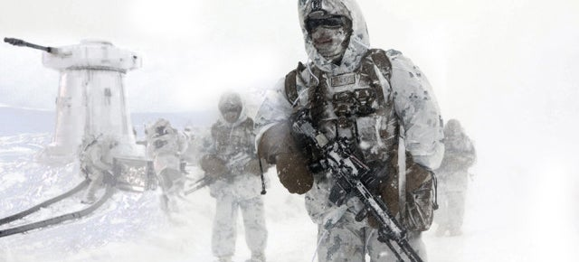 Real military images feel like lost frames from The Empire Strikes Back