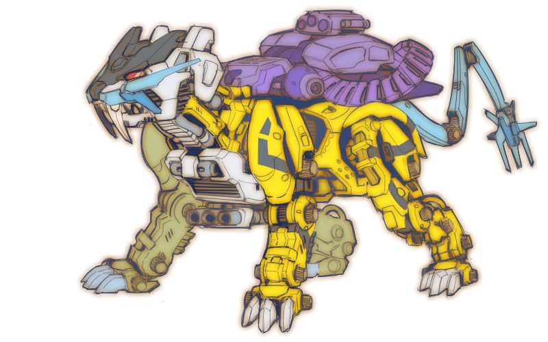 art giant-robots japan mecha zoids
