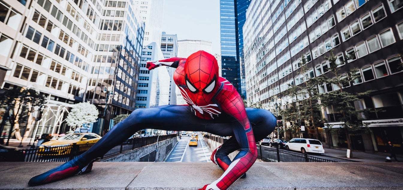 cosplay spider-man