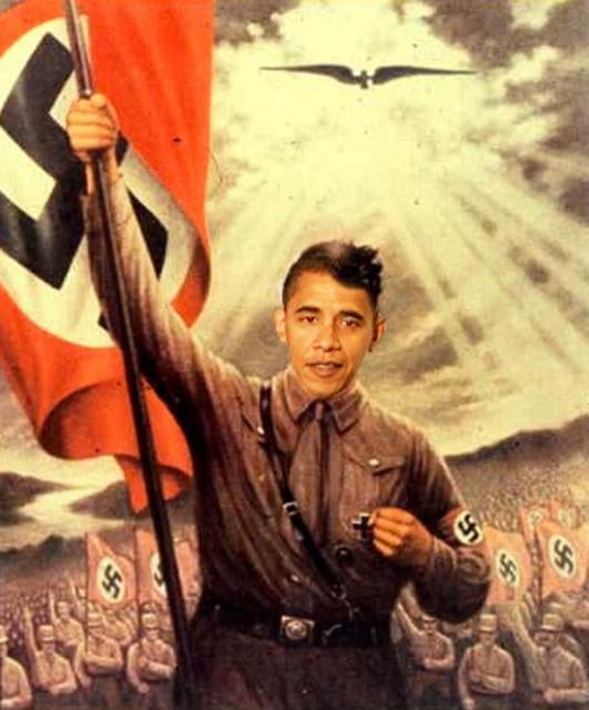Finally, Proof That Obama is Literally Hitler