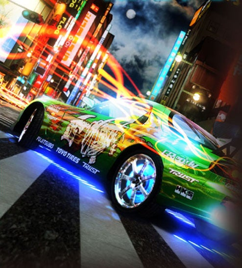 Test Out SEGA-AM2's New Arcade Racer
