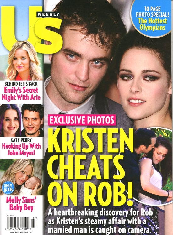 This Week In Tabloids: Here Are Stalkerazzi Photos of Kristen Stewart Kissing a Married Man