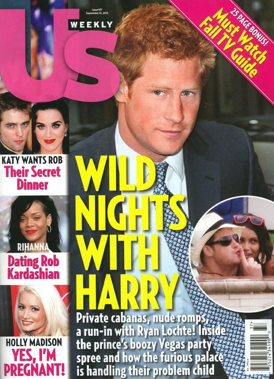 This Week In Tabloids: Prince Harry Will Make Up For Naked Antics by Returning to Afghanistan