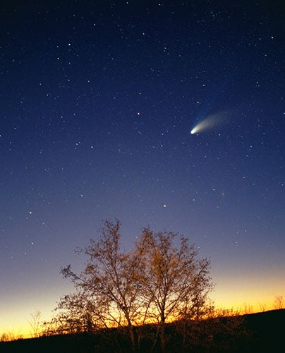 New comet will fly by in 2013! And it could be brighter than the Full Moon