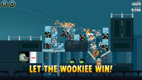 This Week's iPhone Charts: Oh Look, Angry Birds Star Wars