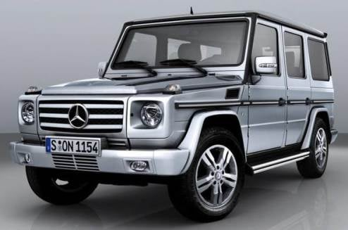 2009 Mercedes Benz G-Class Gets More Power, Still Delightfully Ugly