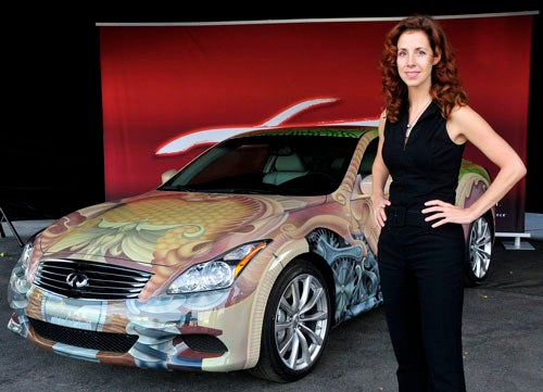 Infiniti G37 Anniversary Art Car Is Definitely Weird