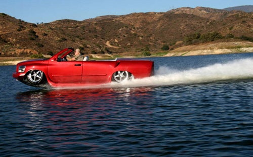 Corvette-Powered Python: Fastest Amphibious Vehicle Ever