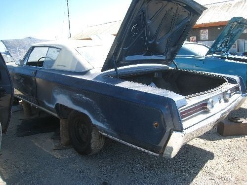 1969 Mercury Marauder X-100, 1968 Chrysler 300 Go To Crusher Side By Side