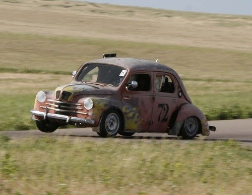 Rocket Surgery Renault 4CV Finally Hits The Track, Looks Great