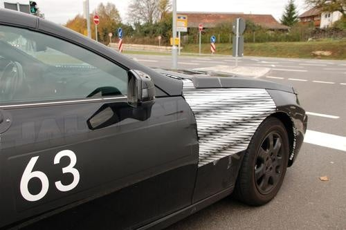 Mercedes Benz SLK Camouflaged