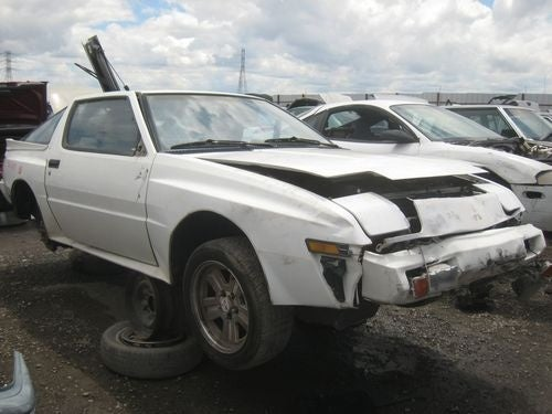 1988 Mitsubishi Starion Down On The Junkyard