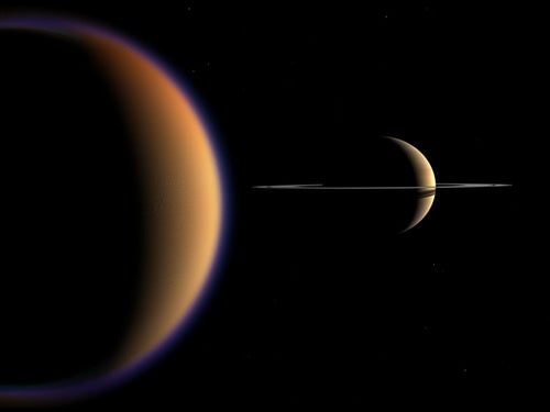 Organic molecules in Titan's atmosphere could rewrite the origins of life on Earth
