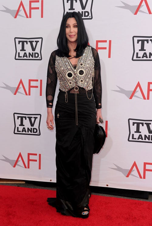 They Like Mike: Cher, Calista & Candice Celebrate Nichols At AFI Event