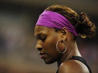 Grand Slam Issues Fine For Serena's Rant