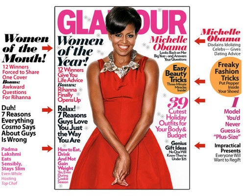 December Glamour: Change We Can't Believe In