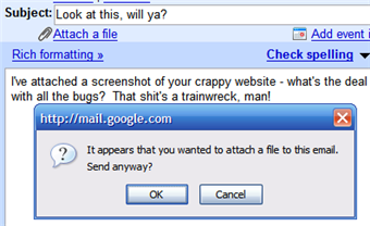 Download of the Day: Gmail Attachment Reminder script