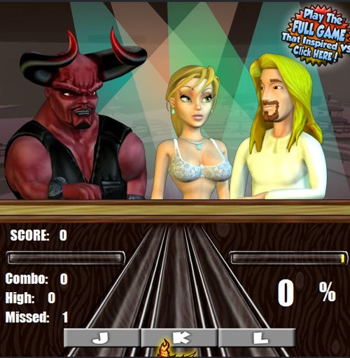Really Bad Games: Satan Vs. Jesus