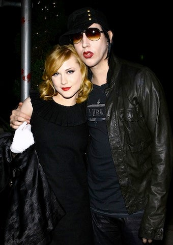 Evan Rachel Wood & Marilyn Manson Split