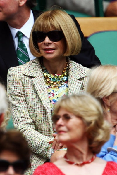 Anna Wintour Will Have The President Over For Dinner Tonight