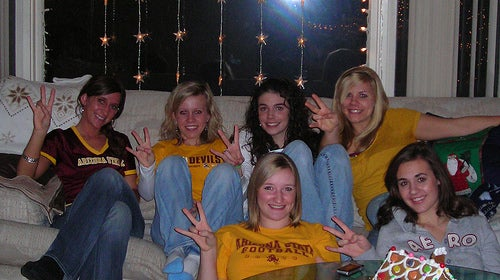 George W. Bush: Fan Of The Sun Devils ... Or The Shocker?