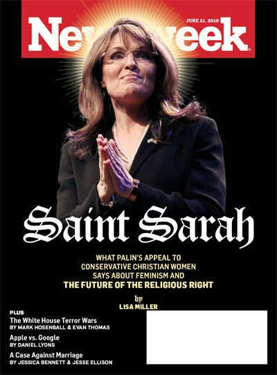 Sarah Palin, False Prophet