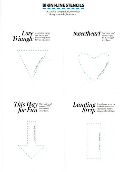 How To Make A Triangular Pubic Hair How To Make A