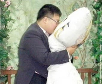 Man Marries His Beloved Body Pillow