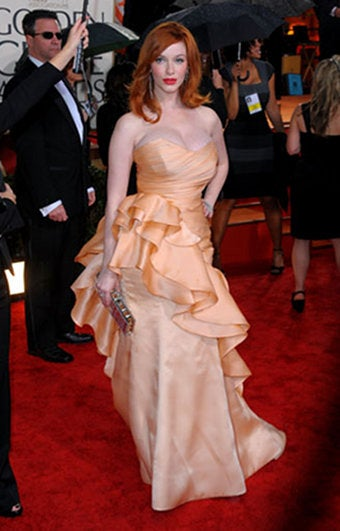 'You Don't Put A Big Girl In A Big Dress': Dissing Christina Hendricks