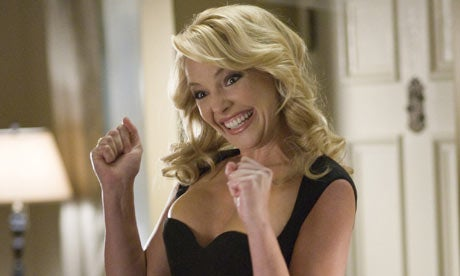 Katherine Heigl Teams Up With Evil Genius to Rule the World Forever