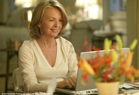 Diane Keaton to Become a Professional Blogger?