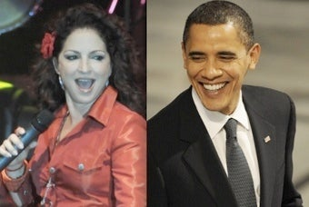 'Which Chimney Will Santa Use?': Gloria Estefan's Obama Interview Not Exactly Hard-Hitting