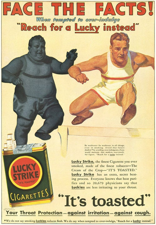 When Cigarette Ads Had Balls