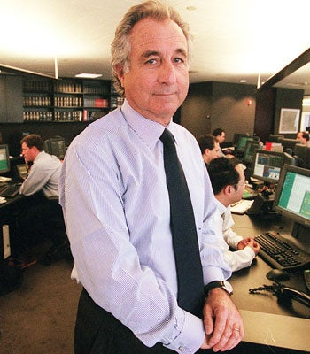 Bernie Madoff Speaks!