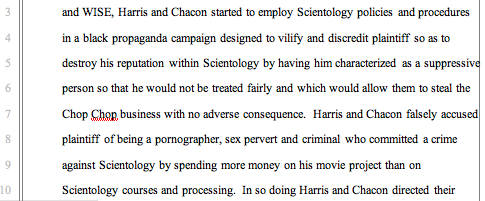The Story Behind Scientology's Slap Chop Scandal