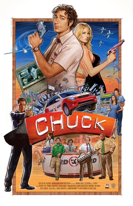 You'll never guess who's running the Buy More in Chuck season four!
