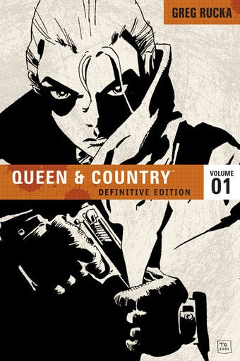 A Sneak Peak at Greg Rucka's New Queen & Country Spy-fi Tale