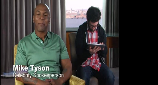 Here's How Mike Tyson Will Cure Your Angry Birds Addiction