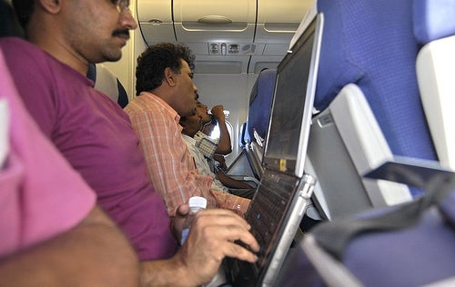 The Weird State of In-Flight Wi-Fi in the US